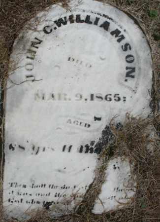 WILLIAMSON, JOHN C. - Montgomery County, Ohio | JOHN C. WILLIAMSON - Ohio Gravestone Photos