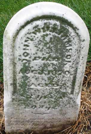WILLIAMSON, JOHN - Montgomery County, Ohio | JOHN WILLIAMSON - Ohio Gravestone Photos