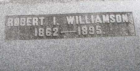 WILLIAMSON, ROBERT I. - Montgomery County, Ohio | ROBERT I. WILLIAMSON - Ohio Gravestone Photos