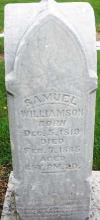 WILLIAMSON, SAMUEL - Montgomery County, Ohio | SAMUEL WILLIAMSON - Ohio Gravestone Photos
