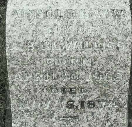 WILLISS, ARNOLD - Montgomery County, Ohio | ARNOLD WILLISS - Ohio Gravestone Photos