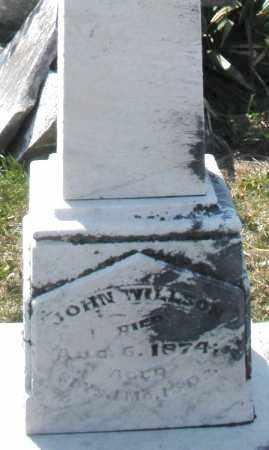 WILLSON, JOHN - Montgomery County, Ohio | JOHN WILLSON - Ohio Gravestone Photos