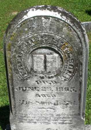 WILSON, FREDERICK - Montgomery County, Ohio | FREDERICK WILSON - Ohio Gravestone Photos