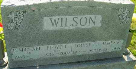 WILSON, LOUISE E - Montgomery County, Ohio | LOUISE E WILSON - Ohio Gravestone Photos