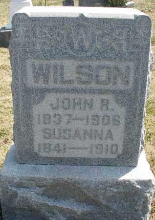 WILSON, JOHN R. - Montgomery County, Ohio | JOHN R. WILSON - Ohio Gravestone Photos