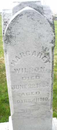 WILSON, MARGARET - Montgomery County, Ohio   MARGARET WILSON - Ohio Gravestone Photos
