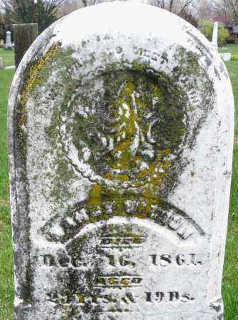 WILSON, NANCY - Montgomery County, Ohio | NANCY WILSON - Ohio Gravestone Photos