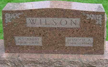 WILSON, JESSAMINE ELLA - Montgomery County, Ohio   JESSAMINE ELLA WILSON - Ohio Gravestone Photos