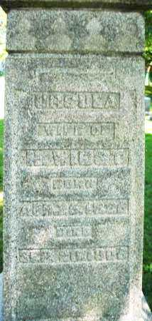 WILST, URSULA - Montgomery County, Ohio   URSULA WILST - Ohio Gravestone Photos