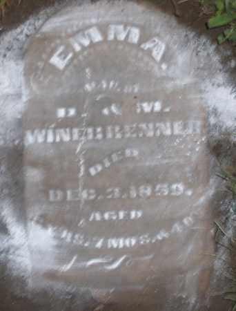 WINEBRENNER, EMMA - Montgomery County, Ohio | EMMA WINEBRENNER - Ohio Gravestone Photos