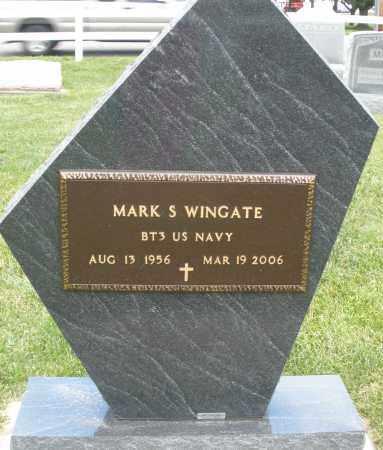WINGATE, MARK S. - Montgomery County, Ohio   MARK S. WINGATE - Ohio Gravestone Photos