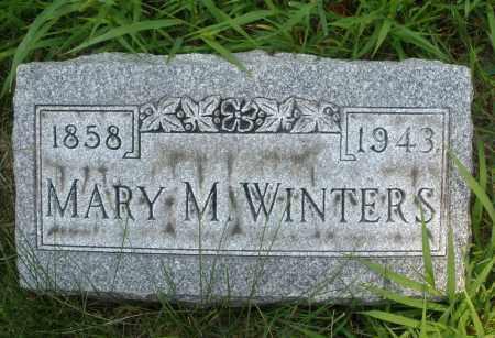 WINTERS, MARY M. - Montgomery County, Ohio | MARY M. WINTERS - Ohio Gravestone Photos