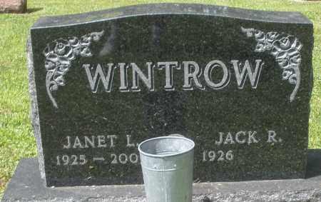 WINTROW, JANET L. - Montgomery County, Ohio | JANET L. WINTROW - Ohio Gravestone Photos