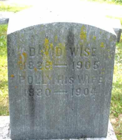 WISE, DAVID - Montgomery County, Ohio | DAVID WISE - Ohio Gravestone Photos