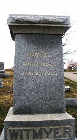 WITMYER, SAMUEL - Montgomery County, Ohio | SAMUEL WITMYER - Ohio Gravestone Photos