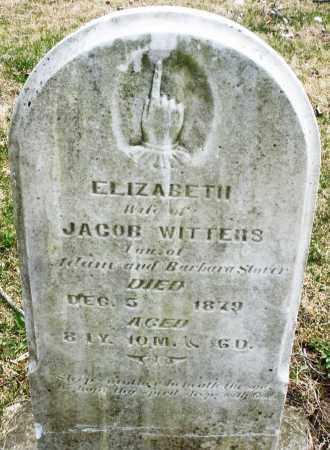 STORER WITTERS, ELIZABETH - Montgomery County, Ohio | ELIZABETH STORER WITTERS - Ohio Gravestone Photos