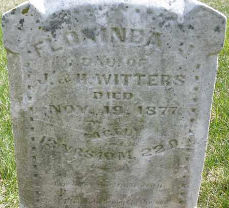 WITTERS, FLONINEA - Montgomery County, Ohio   FLONINEA WITTERS - Ohio Gravestone Photos