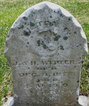 WITTERS, INFANT - Montgomery County, Ohio | INFANT WITTERS - Ohio Gravestone Photos