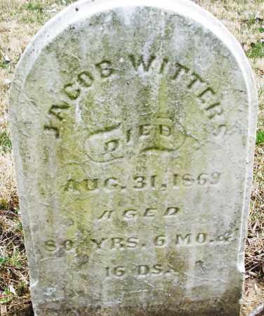 WITTERS, JACOB - Montgomery County, Ohio   JACOB WITTERS - Ohio Gravestone Photos
