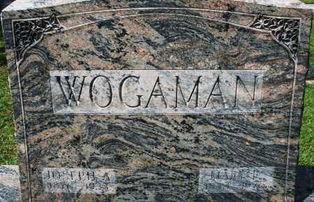 WOGAMAN, JOSEPH A. - Montgomery County, Ohio | JOSEPH A. WOGAMAN - Ohio Gravestone Photos