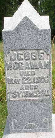 WOGAMAN, JESSE - Montgomery County, Ohio | JESSE WOGAMAN - Ohio Gravestone Photos