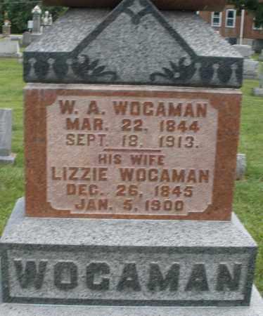 WOGAMAN, W.A. - Montgomery County, Ohio | W.A. WOGAMAN - Ohio Gravestone Photos