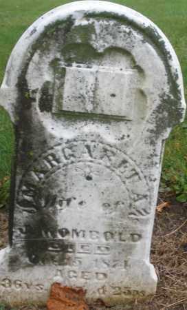 WOMBOLD, MARGARET A. - Montgomery County, Ohio | MARGARET A. WOMBOLD - Ohio Gravestone Photos