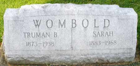 WOMBOLD, SARAH - Montgomery County, Ohio | SARAH WOMBOLD - Ohio Gravestone Photos