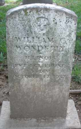WONDERLY, WILLIAM C. - Montgomery County, Ohio | WILLIAM C. WONDERLY - Ohio Gravestone Photos