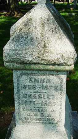 WOODARD, EMMA - Montgomery County, Ohio | EMMA WOODARD - Ohio Gravestone Photos