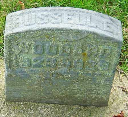 WOODARD, RUSSELL E - Montgomery County, Ohio | RUSSELL E WOODARD - Ohio Gravestone Photos