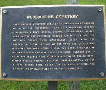 WOODBOURNE, CEMETERY - Montgomery County, Ohio | CEMETERY WOODBOURNE - Ohio Gravestone Photos
