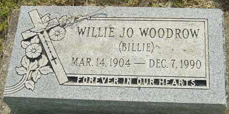 WOODROW, WILLIE JO - Montgomery County, Ohio | WILLIE JO WOODROW - Ohio Gravestone Photos