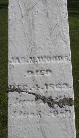 WOODS, JAMES M. - Montgomery County, Ohio   JAMES M. WOODS - Ohio Gravestone Photos