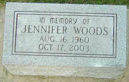 WOODS, JENNIFER - Montgomery County, Ohio | JENNIFER WOODS - Ohio Gravestone Photos