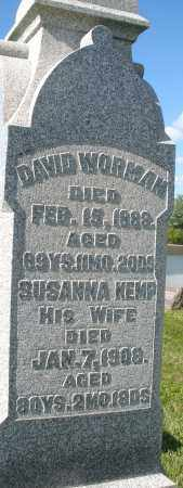 WORMAN, DAVID - Montgomery County, Ohio | DAVID WORMAN - Ohio Gravestone Photos