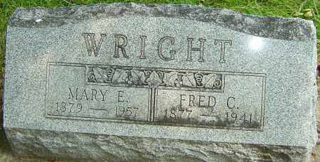 WRIGHT, FREDERICK CRAWFORD - Montgomery County, Ohio | FREDERICK CRAWFORD WRIGHT - Ohio Gravestone Photos