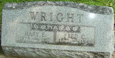 BLESSING WRIGHT, MARY ELIZABETH - Montgomery County, Ohio | MARY ELIZABETH BLESSING WRIGHT - Ohio Gravestone Photos