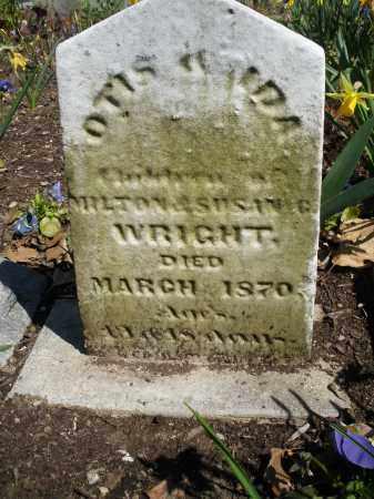 WRIGHT, OTIS - Montgomery County, Ohio | OTIS WRIGHT - Ohio Gravestone Photos