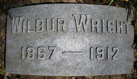 WRIGHT, WILBUR - Montgomery County, Ohio | WILBUR WRIGHT - Ohio Gravestone Photos