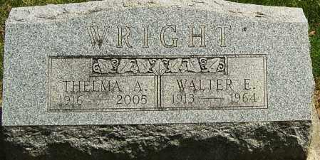 WRIGHT, WALTER - Montgomery County, Ohio | WALTER WRIGHT - Ohio Gravestone Photos