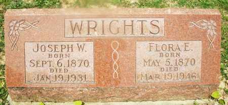 WRIGHTS, JOSEPH W. - Montgomery County, Ohio | JOSEPH W. WRIGHTS - Ohio Gravestone Photos