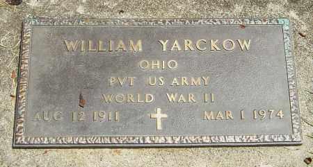 YARCKOW, WILLIAM - Montgomery County, Ohio | WILLIAM YARCKOW - Ohio Gravestone Photos