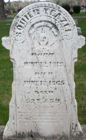 YEAZEL, SQUIER - Montgomery County, Ohio | SQUIER YEAZEL - Ohio Gravestone Photos