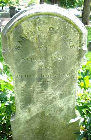 YIKE, SAMUEL O. - Montgomery County, Ohio | SAMUEL O. YIKE - Ohio Gravestone Photos