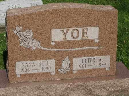 BELL YOE, NANA - Montgomery County, Ohio | NANA BELL YOE - Ohio Gravestone Photos