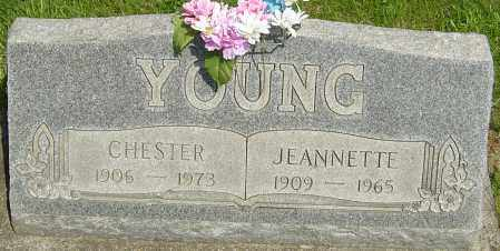 YOUNG, CHESTER - Montgomery County, Ohio | CHESTER YOUNG - Ohio Gravestone Photos