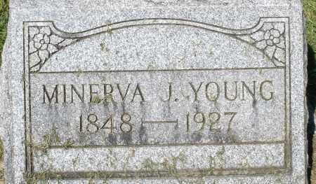YOUNG, MINERVA J. - Montgomery County, Ohio | MINERVA J. YOUNG - Ohio Gravestone Photos