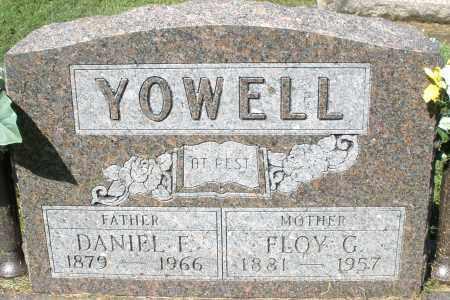 YOWELL, DANIEL F. - Montgomery County, Ohio | DANIEL F. YOWELL - Ohio Gravestone Photos