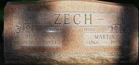 ZECH, MARTIN - Montgomery County, Ohio | MARTIN ZECH - Ohio Gravestone Photos